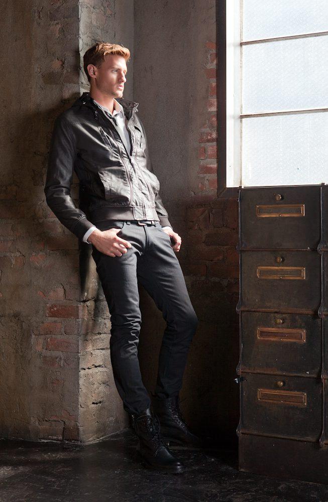 Keinejad Jeans Lookbook. Photo by Efren Beltran